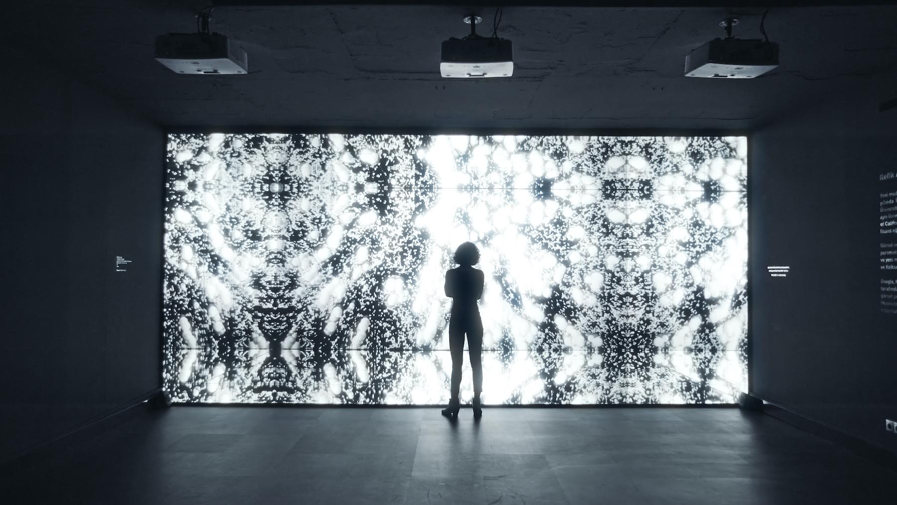 Refik Anadol an der Volvo Art Session 2019