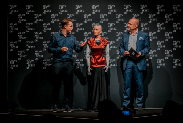 «Sophia the Robot» an der Volvo Art Session 2018